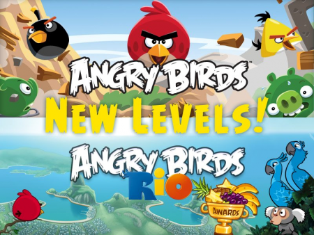 Angry birds nouveaux niveaux