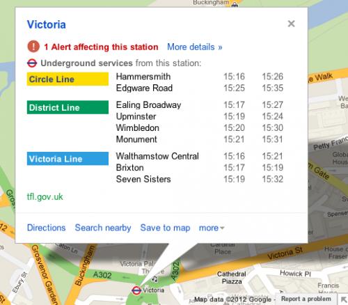 Google Maps londres
