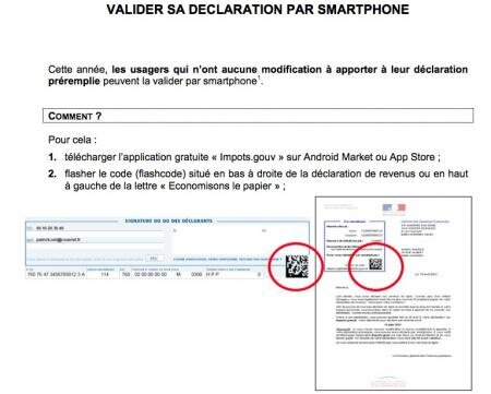 impots.gouv application smartphone