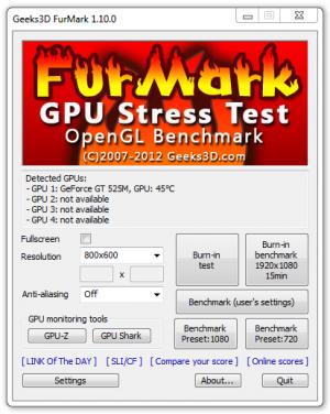 Furmark 1.1.0