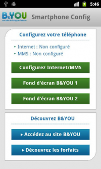 B&You application Android