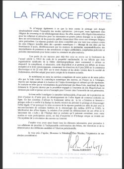 Nicolas Sarkozy ALPA