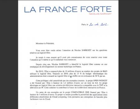 Candidats.fr nicolas sarkozy