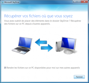 SkyDrive Sync client