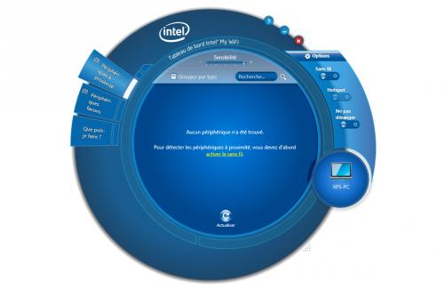 Intel MyWiFi Dashboard