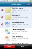 SkyDrive application iOS Windows Phone
