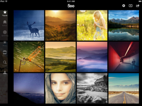 500 px application Android iOS
