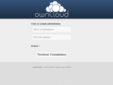Owncloud Admin