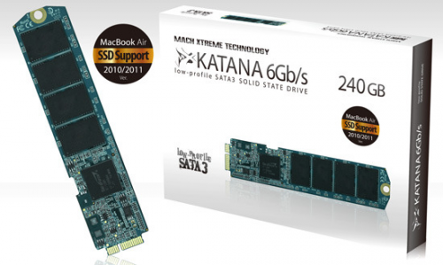 SSD Katana MX Technology