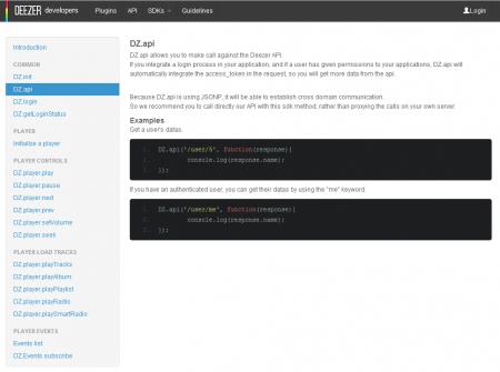 Deezer API