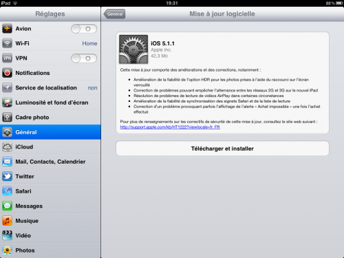 Apple iOS 5.1.1