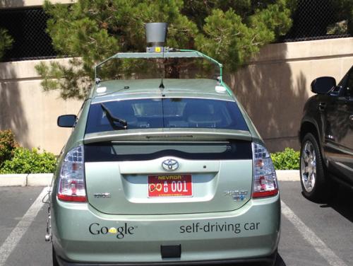 Google car voiture sans pilote