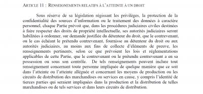 ACTA article 11