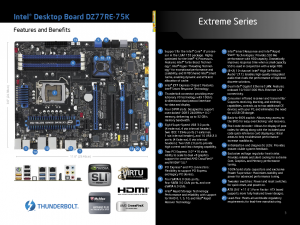 Intel DZ77RE-75K