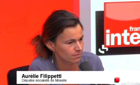 filippetti france inter