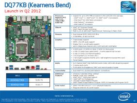 Intel DQ77KB Thin Mini ITX
