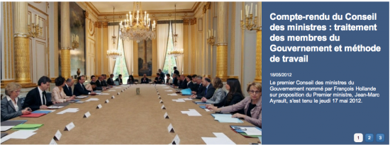 conseil des ministres ayrault