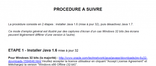 Java insécurité