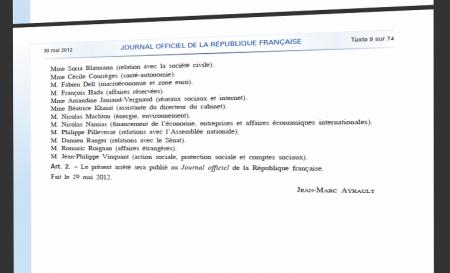 Journal officiel Amandine Janiaud-Vergnaud