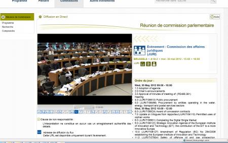 Commission JURI ACTA