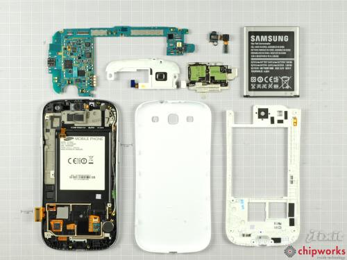Samsung Galaxy SIII (iFixit)