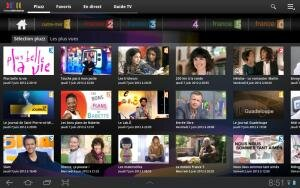 Pluzz Android TV a la demande France television