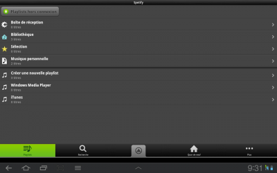 Spotify Android 4.0