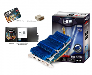 HIS HD 7750 iSilence 5