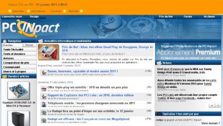archive pcinpact janvier 2011