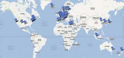 google map membre iipc