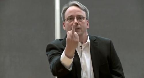 Linus Torvald NVIDIA