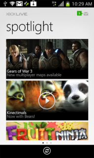Xbox live pour android