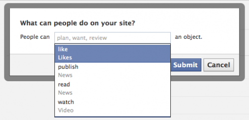 facebook open graph aime