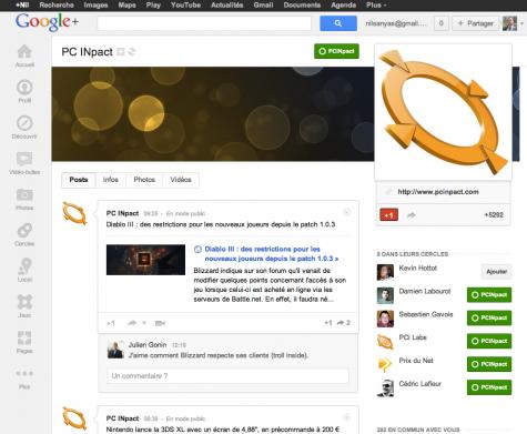 Google+ PCINpact