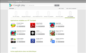 google play store applications android mise a jour