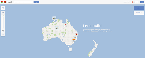 build whith chrome LEGO australie