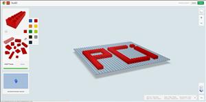 build with chrome LEGO