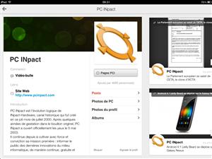 Google+ iOS iPad