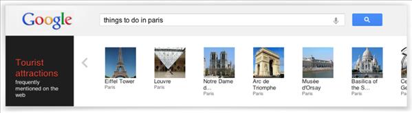 google recherche knowledge graph