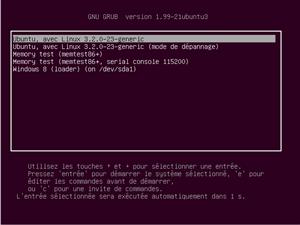 Windows 8 Dual boot Ubuntu