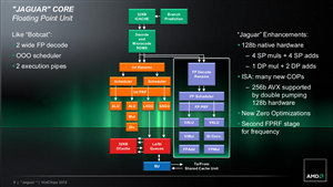 AMD Hot Chips 2012 Jaguar