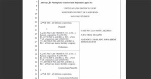 apple plainte brevet galaxy SIII