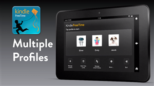 Kindle Fire Controle parental
