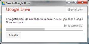 save to drive