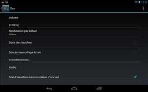 Nexus 7 Station d'accueil