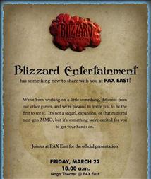 Blizzard PAX 2013