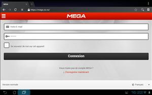Mega site mobile