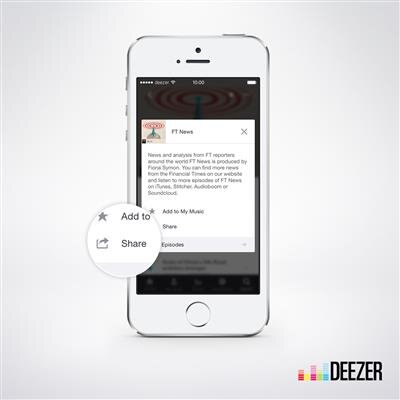 Deezer Podcasts