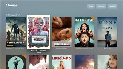 Plex Apple TV tvOS