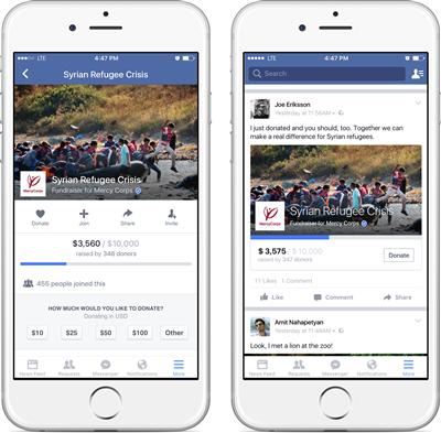 Facebook Fundraider